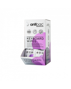 Antibac® Keyboard wipes, displaykarton à 80 stk