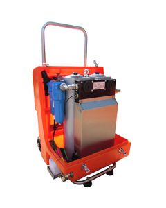 Mobile Safe-Air Trolley, 950 l/min, 4 users