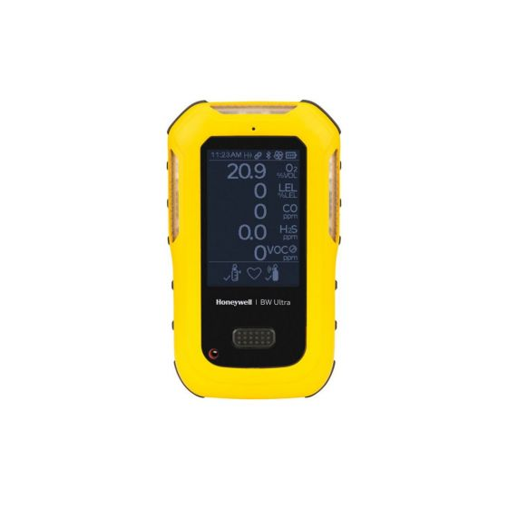 Honeywell BW™ Ultra 5-gas detector (O2, LEL, H2S, CO, VOCs)